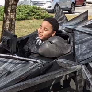 Wheel Chair Bound Boy Turned Super Hero
